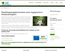 website-bedrijf-orthomolsport door-HWApplicaties